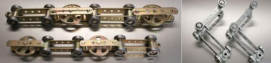 Bi-Planar conveyor chain