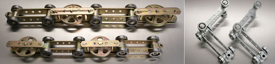 Bi-Planar conveyor chain